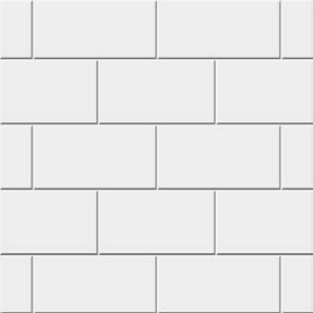 Subway Pattern Tile custom acrylic wall systems | carefree home pros