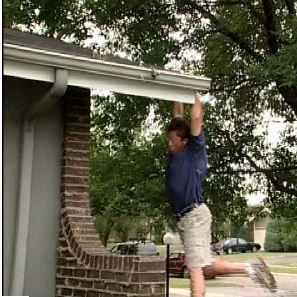 Clean your own gutters!