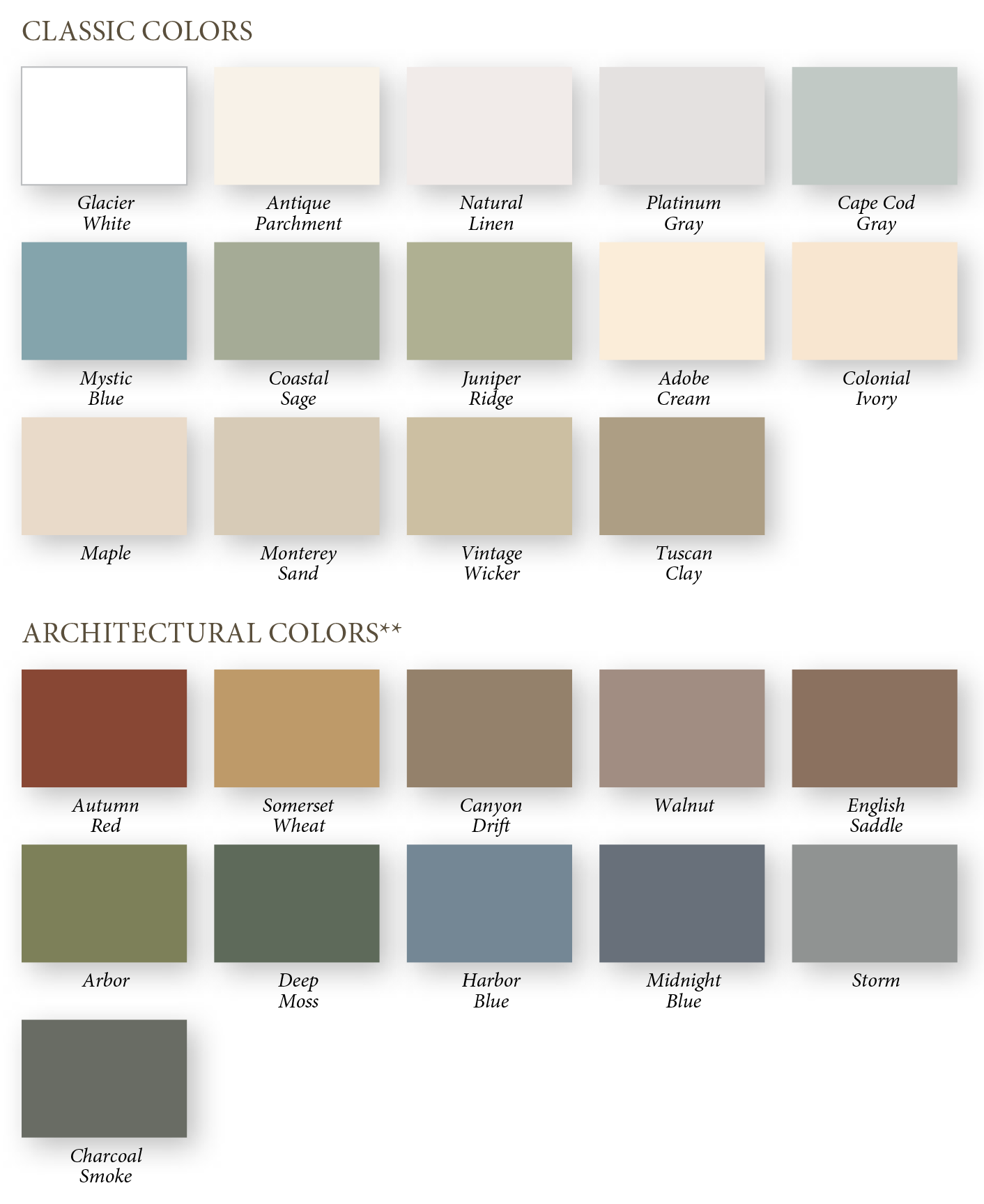 Siding Colors 28 Images Insulated Vinyl Siding