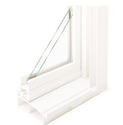 Dual Hollow Frame Window