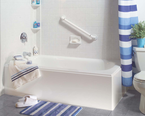 Care Free Home Pros New Tub Installation